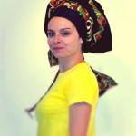 turbante afro